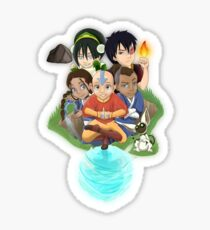 Avatar The Last AirBender Sticker