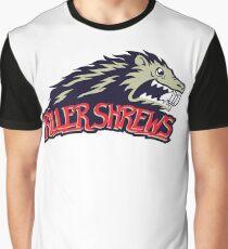Killer Shrews Team Logo Graphic T-Shirt
