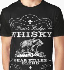Bear Killer Whisky Graphic T-Shirt