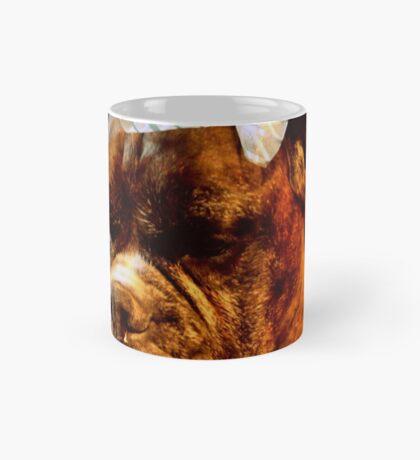 Boxer-Hund mit Bogen - Boxer-Hunde-Serie Tasse