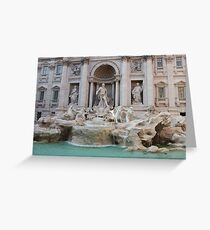 Trevi Fountain - so beautiful Greeting Card