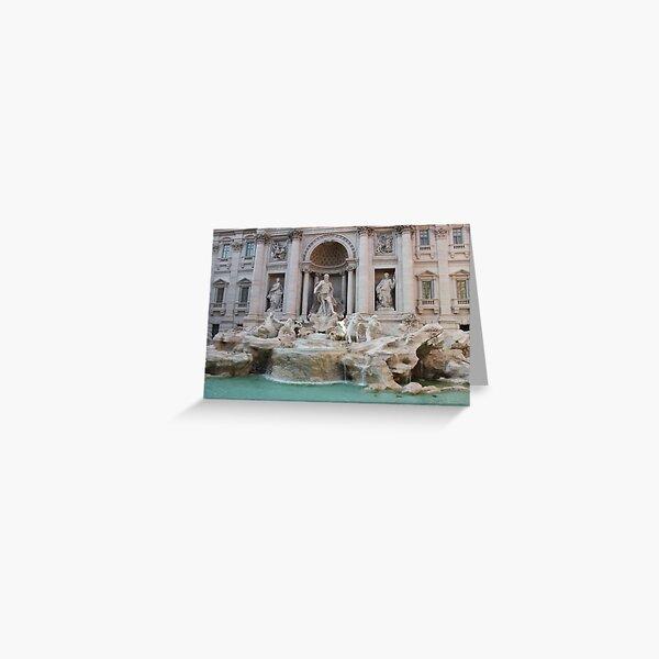 Trevi Fountain - so beautiful Greeting Card