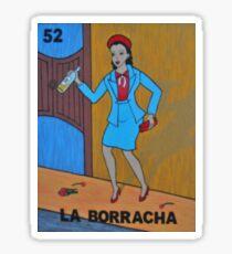 Loteria: La Borracha Sticker