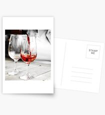 Pour me a glass Postcards