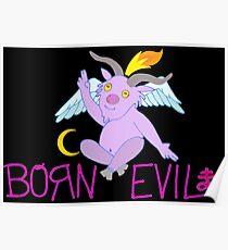BORN EVIL Poster