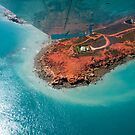 Flying over Gantheaume Point, Broome by Extraordinary Light