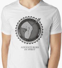 Skyrim - Town Guard Mens V-Neck T-Shirt