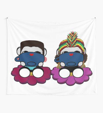 STPC: Naka Do & Oyo Yo (Sipping Tea) Wall Tapestry