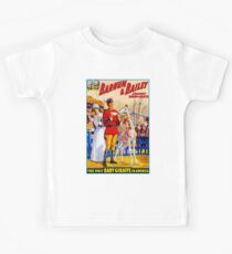 BARNUM & BAILEY: Vintage Circus Giraffes Advertising Print Kids Clothes