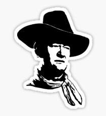Pegatina John Wayne plantilla