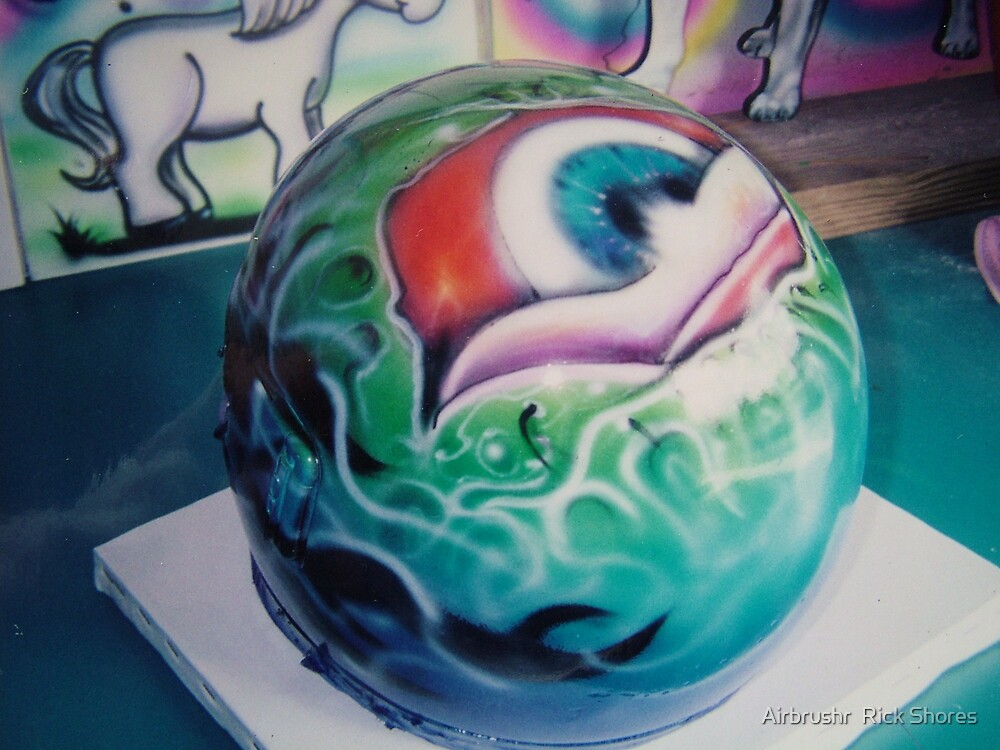 automotive airbrush by Airbrushr  Rick Shores