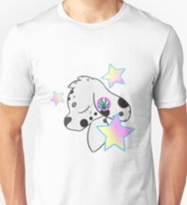 Mary Dalmation weed star pastel T-Shirt