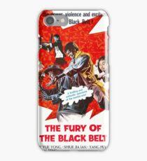 Fury of the Black Belt iPhone Case/Skin