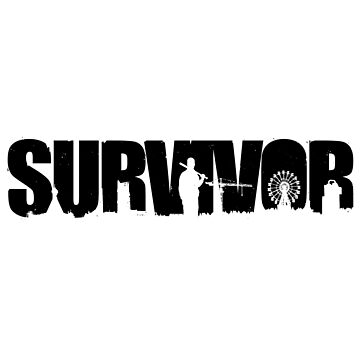 Survivor - Black Ink by Djidiouf