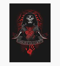 Skyrim - Dark Brotherhood Photographic Print