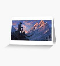 Skyrim - History Greeting Card