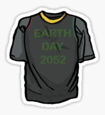 The 100- Jasper's Earth Day Shirt Sticker
