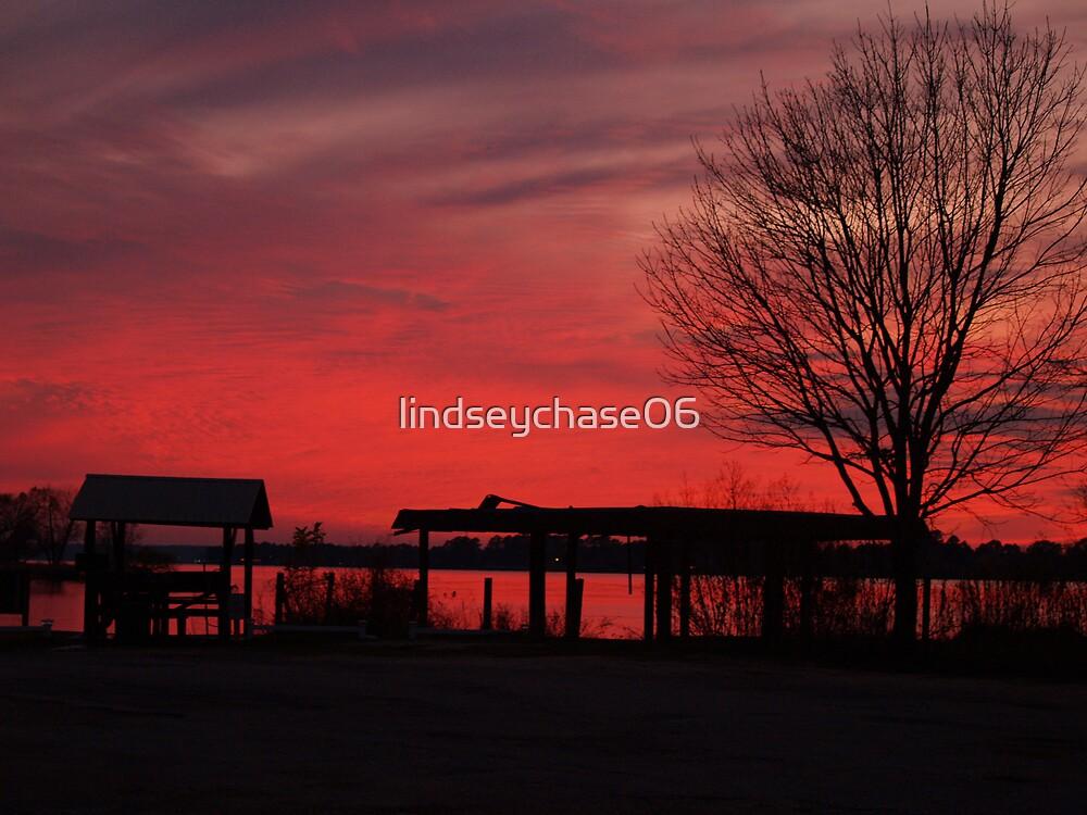 Lake Conroe Sunset by lindseychase06