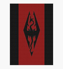 Skyrim - Imperial Banner Photographic Print
