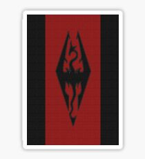 Skyrim - Imperial Banner Sticker