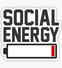 SOCIAL ENERGY Sticker