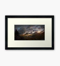 Skyrim - Landscape Framed Print