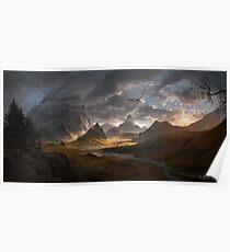 Skyrim - Landscape Poster