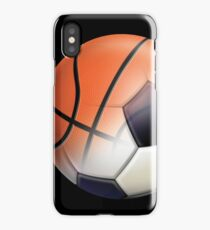Soccer Ball and Basketball Themes iPhone Case/Skin