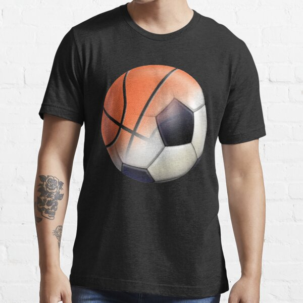 Soccer Ball and Basketball Themes Essential T-Shirt