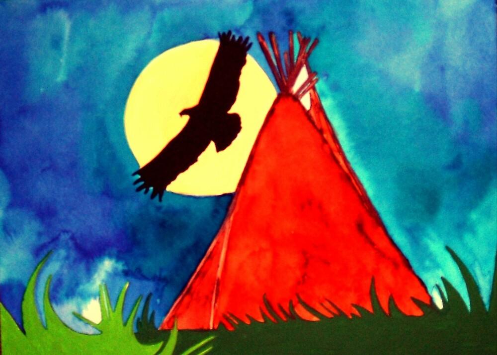 Left Handed Painting by Jamie Winter-Schira