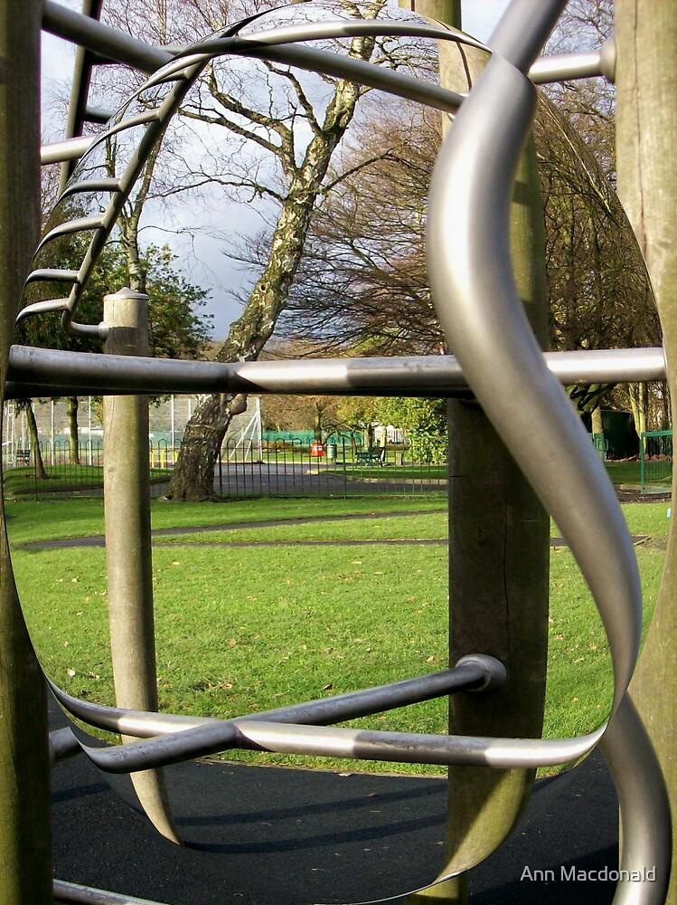 climbing frame by Ann Macdonald