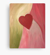 Love Reality Canvas Print