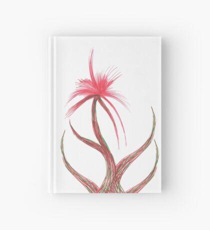 Ruby Flower Hardcover Journal
