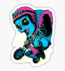 Panda Rider Sticker