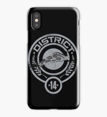 May the pizza be ever in your favor. iPhone Case