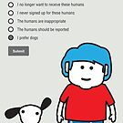 Unsubscribe from Humans by samedog