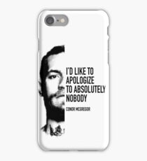 Conor McGregor - Apologize to Nobody iPhone Case/Skin