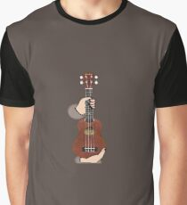 Learn to Play the Ukelele Graphic T-Shirt