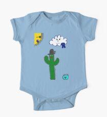 Cactus Cartoon Kids Clothes