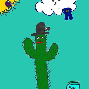 Cactus Cartoon by unclemcpaint