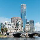 Eureka Tower, Melbourne, Australia by Pauline Tims