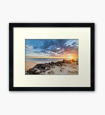 Trigg Sunset Framed Print