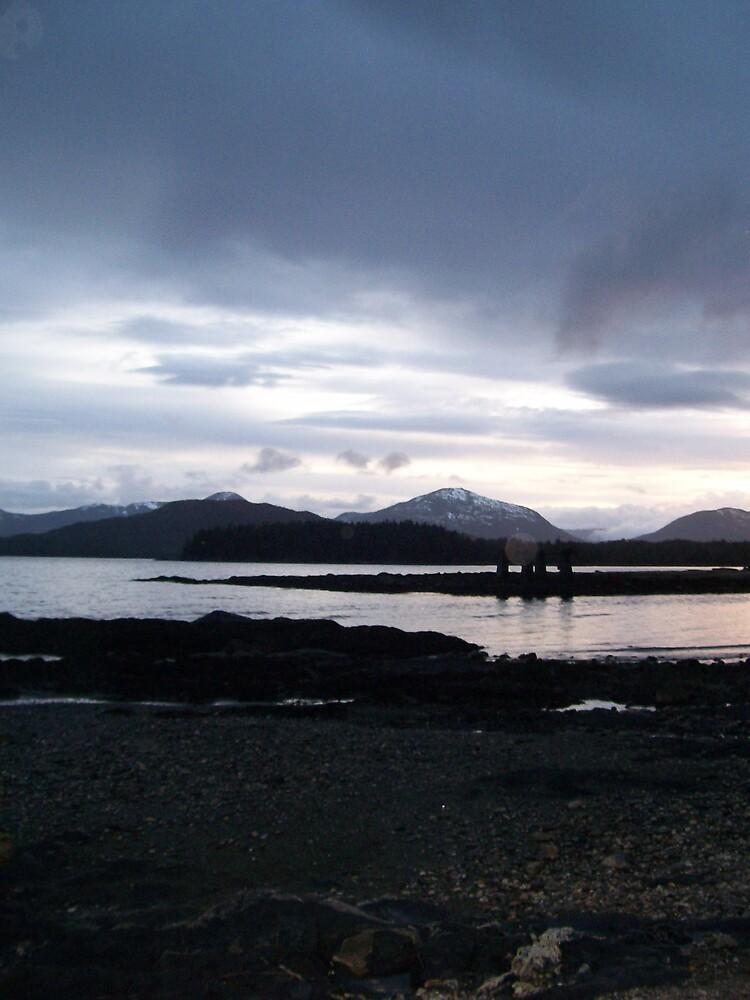 Alaskan beach scene by tigger24adt