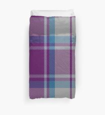 Grape Custard Tartan  Duvet Cover