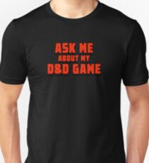 Ask me D&D Unisex T-Shirt