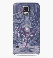 Die schöne Dame Hülle & Klebefolie für Samsung Galaxy