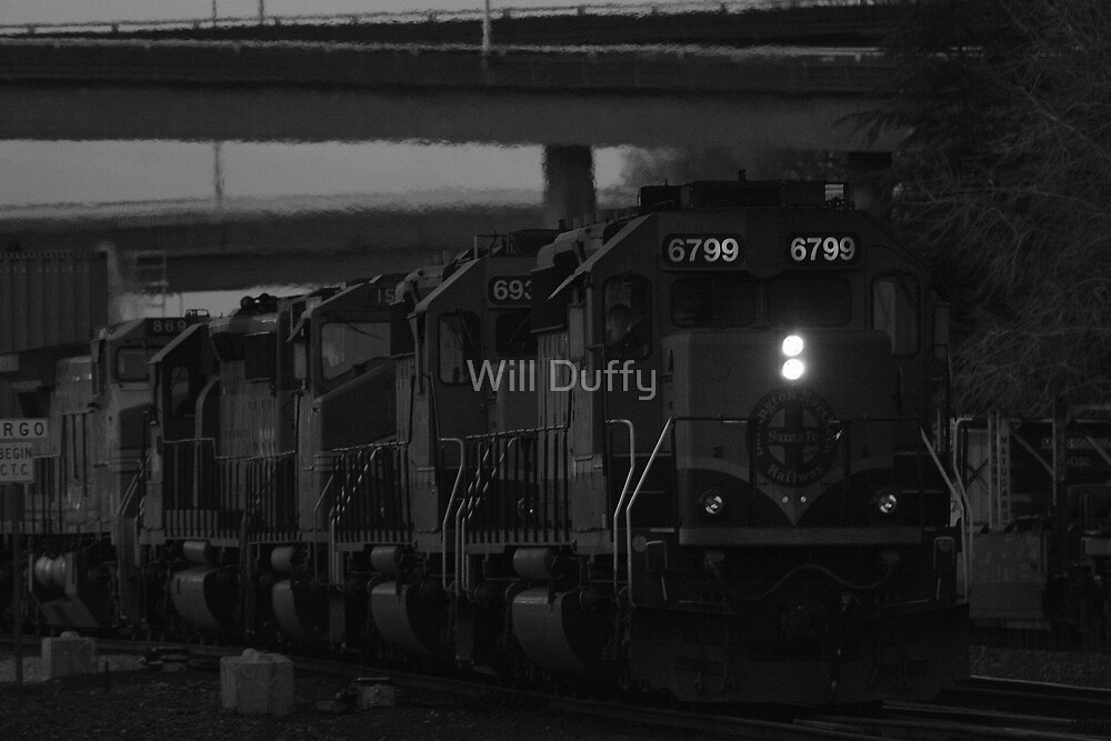 On the right track by Will Duffy