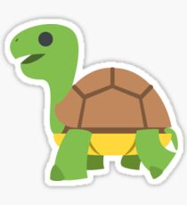 Cartoon Happy Turtle Sticker