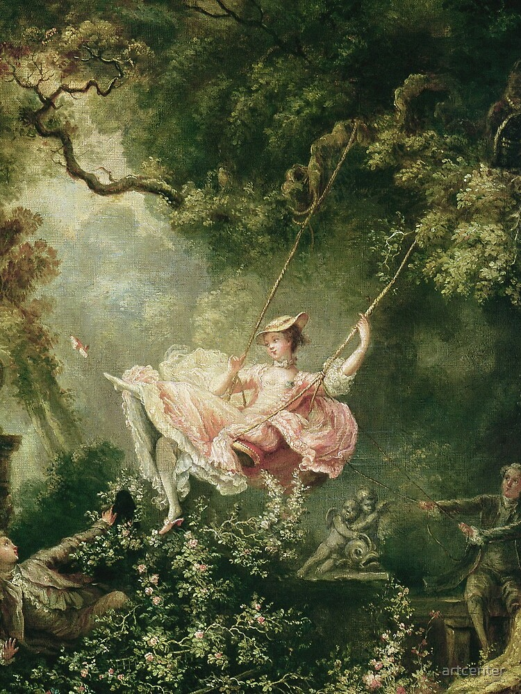 Jean-Honore Fragonard - The Swing, 18th Century by artcenter