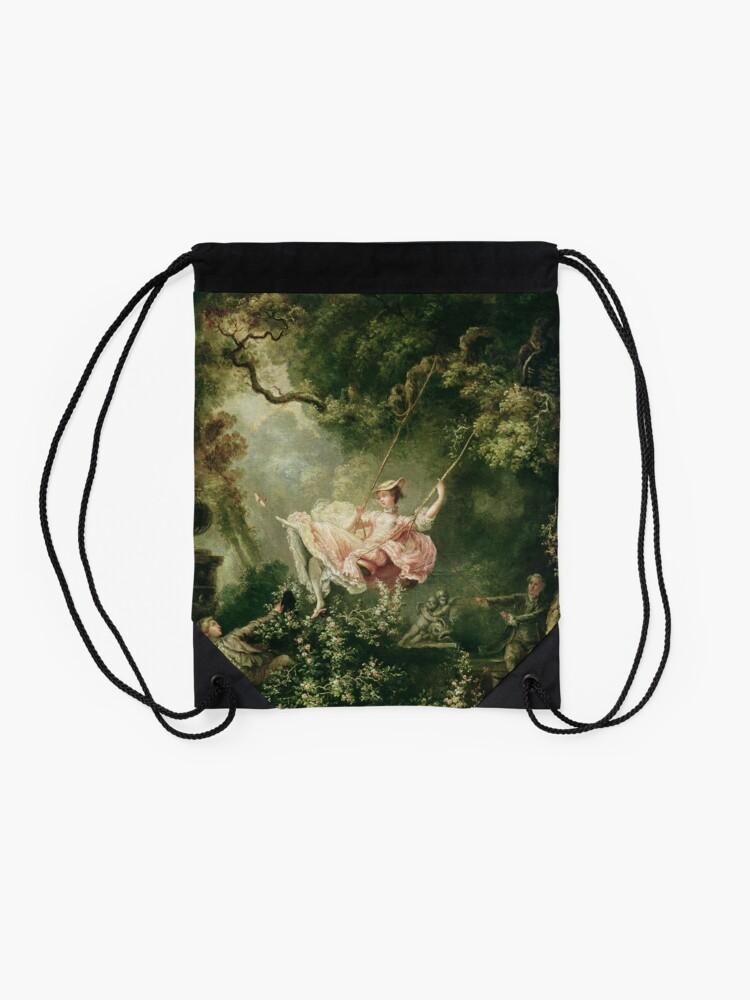 Alternate view of Jean-Honore Fragonard - The Swing, 18th Century Drawstring Bag